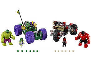 Конструктор Bela 10675 Халк против Красного Халка Супергерои (аналог Lego Super Heroes 76078), фото 2