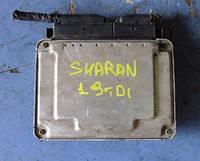 Блок управления двигателем ( ЭБУ )VWSharan 1.9tdi2000-2010Bosch 0281010630, 0389060198ET, EDC15P+ 1268, 28