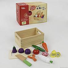 Деревянная игра Овощи на магнитах