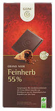 Шоколад Gepa Grand Noir Feinherb 55% 100 г