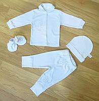 """Комплект для крещения новорожденного """"Ангел"""" ( на рост 68 см, 74 см)"""