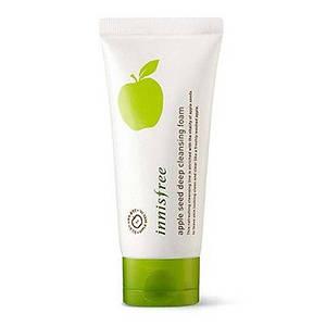 Очищающая пенка с экстрактом яблока INNISFREE Apple Seed Deep Cleansing Foam
