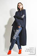 Платье женское, темно-синее, мультисезон  P-WILZA1-1 M-36