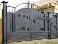 Ворота дворовые под заказ