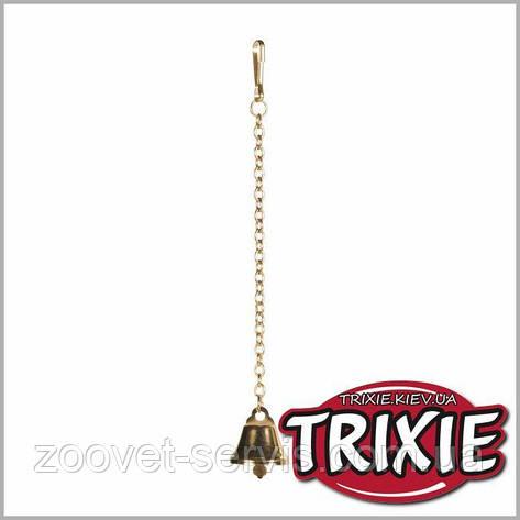 Колокольчик на цепочке для птиц TRIXIE 5245, фото 2