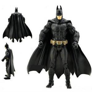 """Фігурка Бетмена з гри """"Лікарня Аркхем"""" - Batman: Arkham Asylum , DC Comics, Mattel, 18 СМ"""