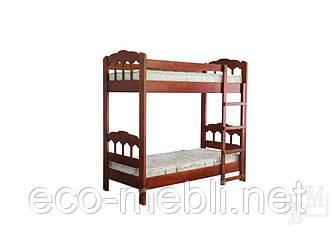 Двоярусне ліжко Капітошка