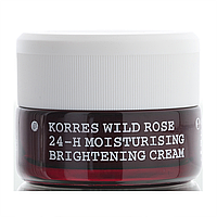 Korres Увлажняющий крем 24 часа с дикой розой с SPF6 для сухой и нормальной кожи