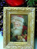 """Глицериновое мыло """"Портрет Деда Мороза""""."""