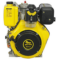 Двигун дизельний Кентавр ДВО-420Д (10 л. с., шпонка, вал 25мм), фото 3