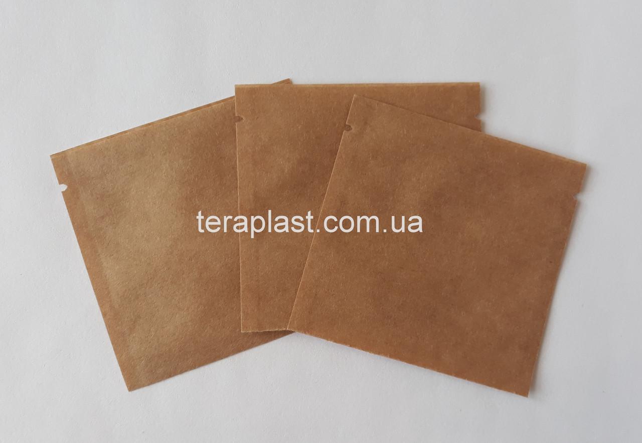 Пакет саше  крафт для пробников 70х70 без зип