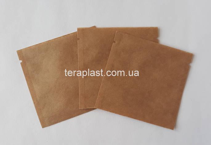 Пакет саше  крафт для пробников 70х70 без зип, фото 2