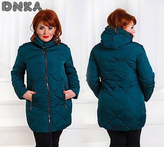 Женская зимняя куртка №26-ат0036 БАТАЛ