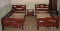 """Кровать односпальная из массива натурального дерева """"Сакура"""" от производителя, фото 3"""