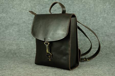Женский рюкзачок «Венеция» mini |11924| Италия| Темный кофе