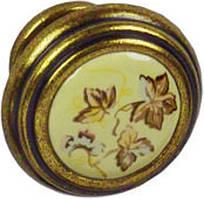 Ручка-кнопка Falso Verina старое золото