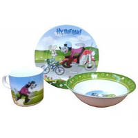 Детская посуда набор 3 предмета