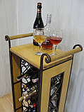 Сервировочный стол-стеллаж для вина (арт. PVKС-102-2), фото 5