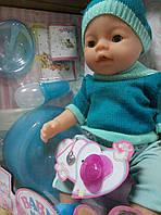 Кукла-пупс, Baby Born аналог, 9 функций. 8006-F