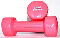 Гантель виниловая SPRINTER 2,5 кг.