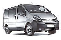 Поперечины на рейлинги Nissan Primastar (2004+)