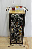 Сервировочный стол-стеллаж для вина (арт. PVKС-102-2), фото 2
