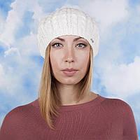 Берет женский ажурный размер 56-59 белый