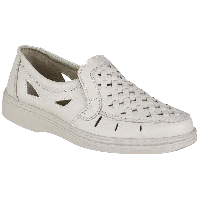 Мужские туфли кожаные белые