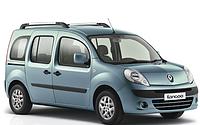 Поперечины на рейлинги Renault Kangoo (2008+)