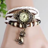 Классные женские часы браслет Bluelans белого цвета