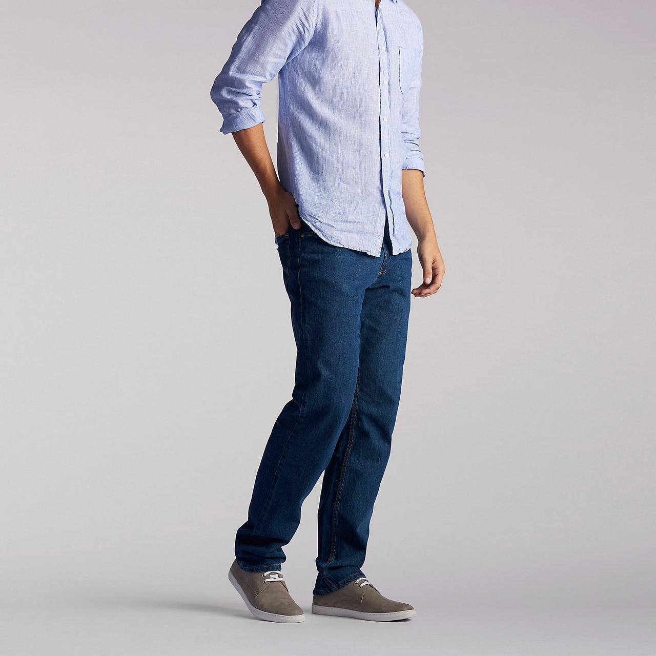 Джинсы Lee Premium Select Regular Fit Straight Leg, Pepper Prewash, 34W29L, 2008989