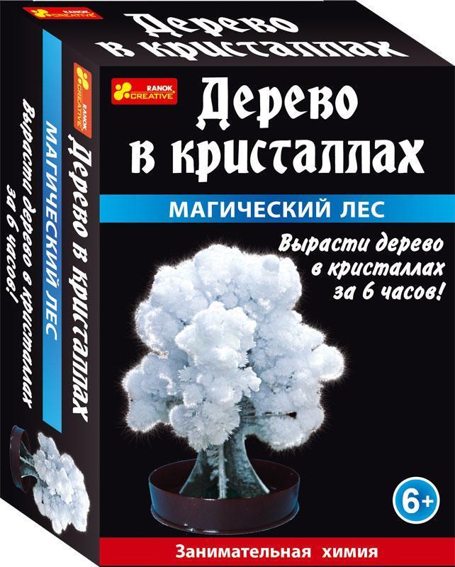 """Научная мини-игра """"Дерево в кристаллах (белое)"""""""