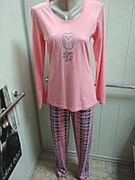Женская пижама Vienetta Secret (розовая)