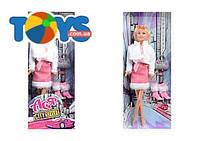 Кукла в розовом платье «Городской стиль», 35068