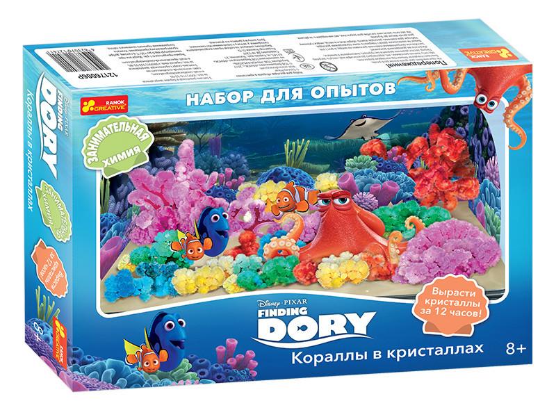 """Набор научных игр """"Кораллы в кристаллах. Рыбка Дори"""""""