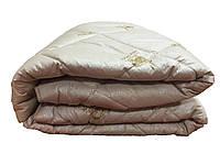 Зимнее теплое одеяло из овечьей шерсти. 180*210. Микрофибра.