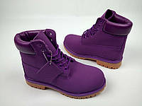 39 размер - Женские Ботинки Timberland Classіc Violet Boots