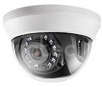 Видеокамера купольная внутренняя цветная Hikvision DS-2CE56C0T-IRMM (2.8 мм)