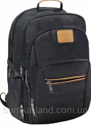 Рюкзак для ноутбука Bagland Гриффит 23 л. черный 45*32*16 см