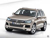 Поперечины на рейлинги Volkswagen Touareg (2010+)