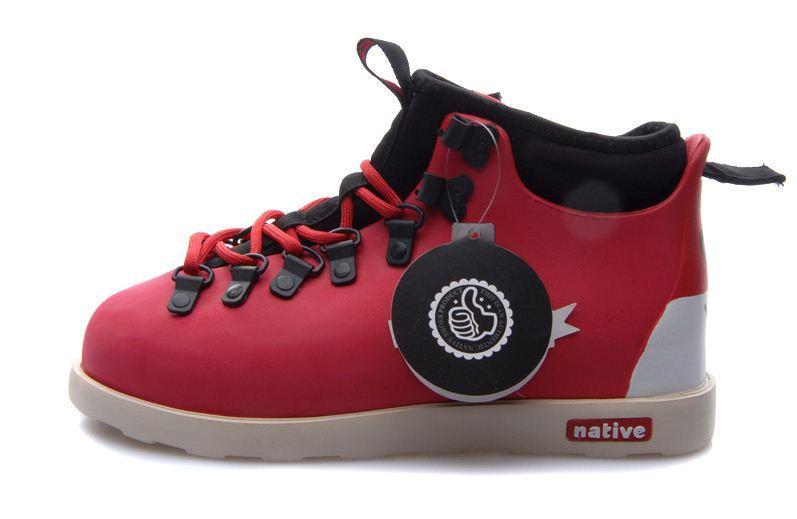 Мужская обувь Native Fitzsimmons red  купить в Днепропетровске и ... b84e92a5a3a