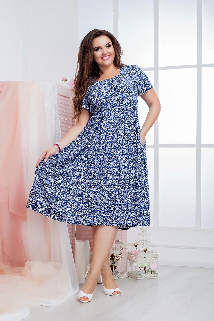 Женское платье (50-64) 8190