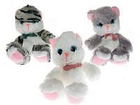 Мягкая игрушка Котик муз. (50-1-3 кошка муз)