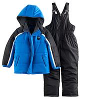 Зимний  комбинезон iXtreme (США) раздельный черно-синий для мальчика от 2 до 7 лет