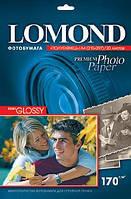 Односторонняя полуглянцевая фотобумага для струйной печати, A4, 170 г/м2, 20 листов