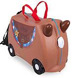 Чемодан детский на колесах Trunki - каталка, фото 9