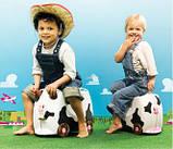 Чемодан детский на колесах Trunki - каталка, фото 4