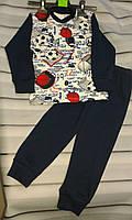 Пижама детская для мальчика интерлок