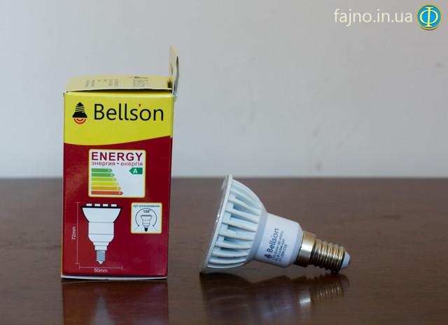 светодиодная лампа Bellson на 5 Вт