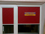 Тканинні ролети,Рулонні штори,закритого типу В КОРОБІ З НАПРАВЛЯЮЧИМИ, фото 4